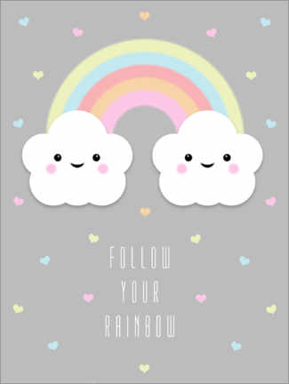 Canvas print  Follow your rainbow - Alec Macdonald