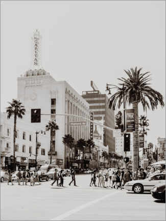 Premium poster  The streets of Los Angeles - Magda Izzard