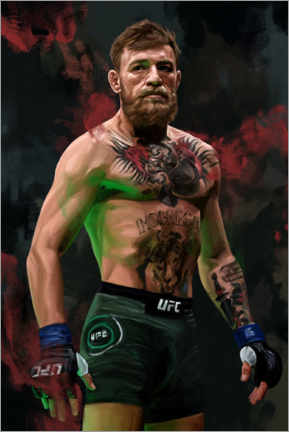 Premium poster  Conor McGregor - Dmitry Belov