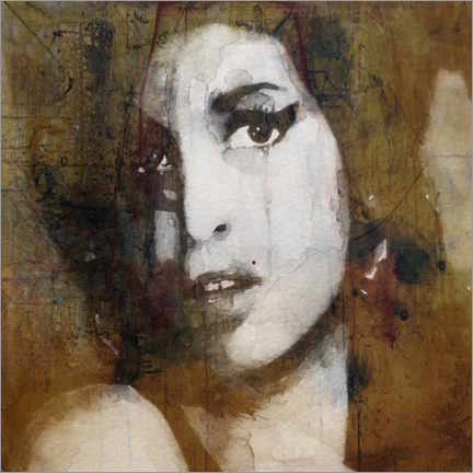 Canvas print  Amy Winehouse - Paul Lovering