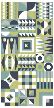 Gallery print  Patchwork two - Thomas Marutschke