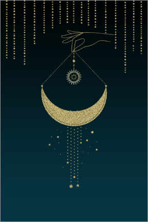 Canvas print  The Magic Of The Moon - Andrea Haase