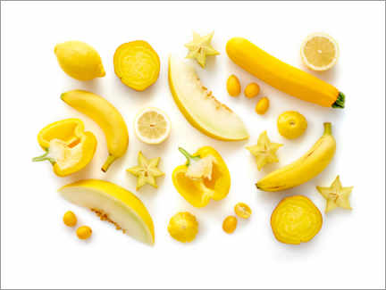 Canvas print  Fresh fruits and vegetables