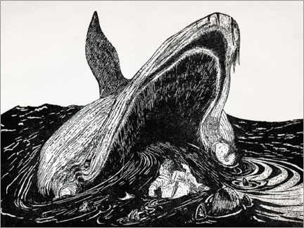 Aluminium print  How the whale got to its throat - CCI Archives