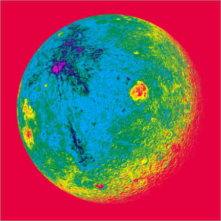 Canvas print  The other side of the moon - Detlev van Ravenswaay