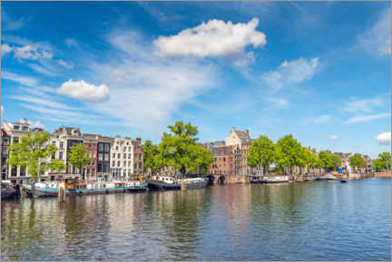 Wall sticker  Amstel river in Amsterdam - George Pachantouris