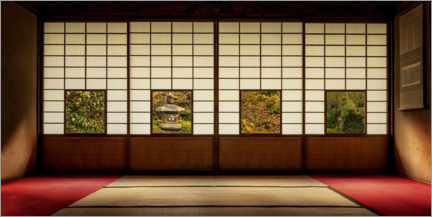Premium poster  Four Views of the Edo Period - André Wandrei