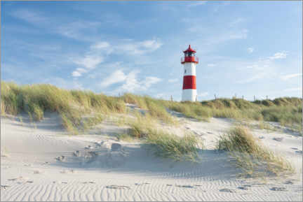 Premium poster List Ost lighthouse on Sylt