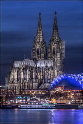 Premium poster Cologne cathedral