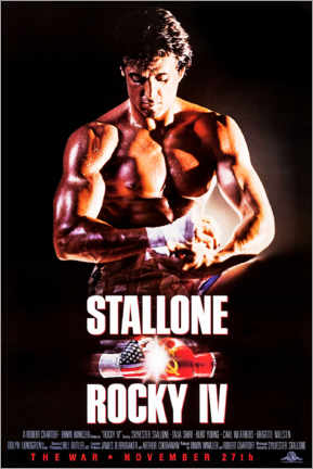 Premium poster  Rocky IV - Entertainment Collection