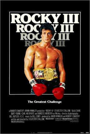 Premium poster  Rocky III - Entertainment Collection