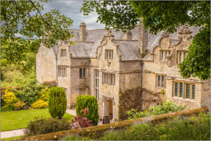 Premium poster Trerice House bei Newquay in Cornwall, England