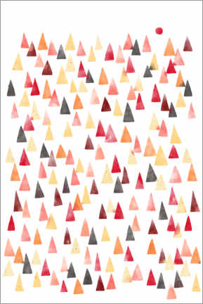 Wood print  Mountains - Nic Squirrell