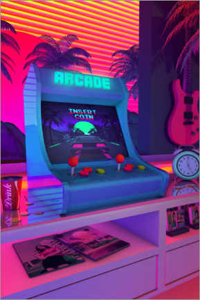 Canvas print  Arcade Dreams - Denny Busyet