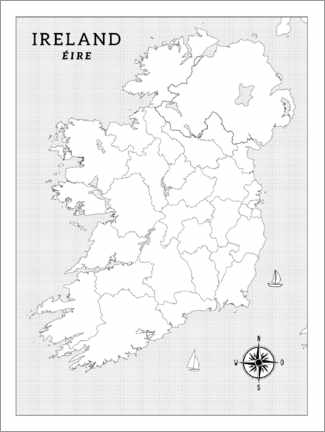 Colouring poster  Ireland