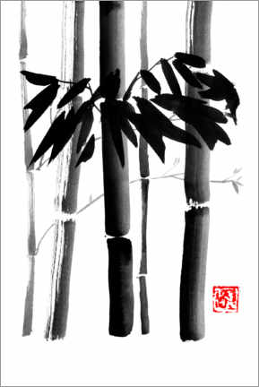 Gallery print  Bamboos bouquet - Péchane
