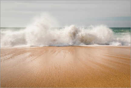 Acrylic print  Surf on Carvoeiro beach - Gerhard Wild