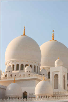 Premium poster  The Sheikh Zayed Mosque in Abu Dhabi - CuboImages