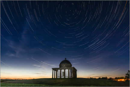Wall sticker  Star trails - Paul Heasman