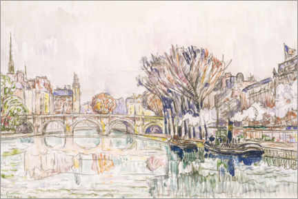 Wall sticker  Pont Neuf, Paris - Paul Signac