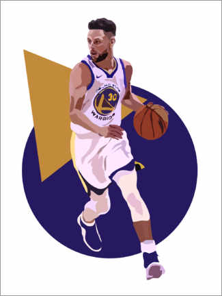 Canvas print  Stephen Curry - Anna McKay