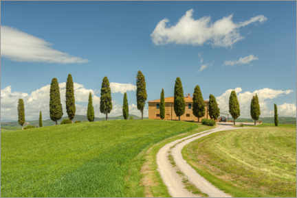 Premium poster Country house in Tuscany