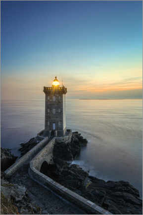 Premium poster  Lighthouse Petit Minou - Jan Neumann
