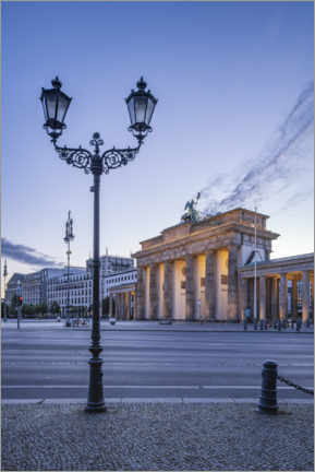 Acrylic print  Brandenburg Gate at the Square of March 18th - Jan Christopher Becke