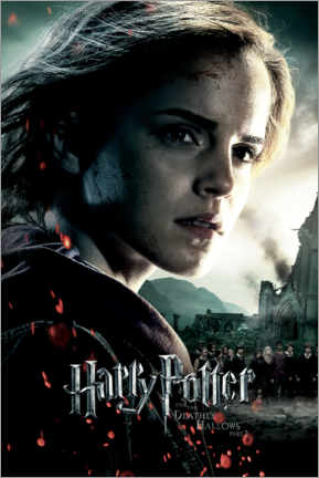 Premium poster The Deathly Hallows II - Hermione