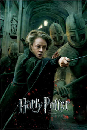 Canvas print  The Deathly Hallows II - Professor McGonagall