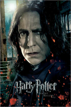 Premium poster  The Deathly Hallows II - Severus Snape