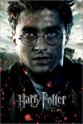 Premium poster The Deathly Hallows II - Harry Potter
