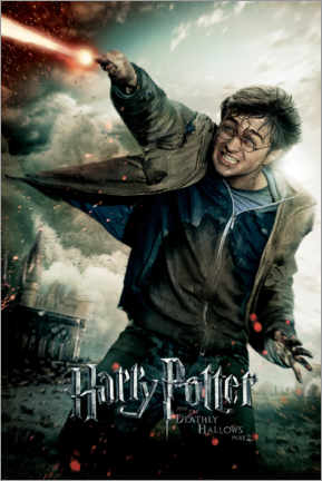 Aluminium print  The Deathly Hallows II - Harry Potter Duel