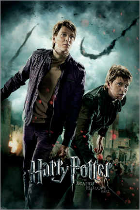 Foam board print  The Deathly Hallows II - Fred & George
