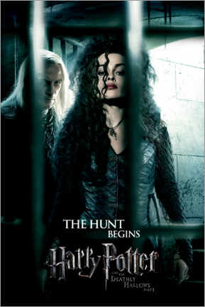 Premium poster The Deathly Hallows I - Bellatrix & Lucius