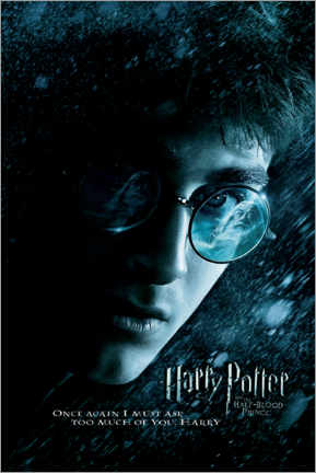 Canvas print  The Half-Blood Prince - Harry close up