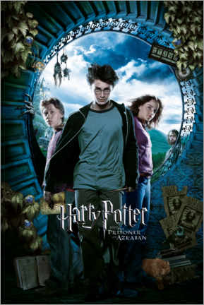Premium poster  The Prisoner of Azkaban - Trio