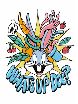 Premium poster  Bugs Bunny - What's Up Doc?