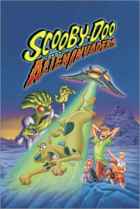 Premium poster  Scooby-Doo And The Alien Invaders