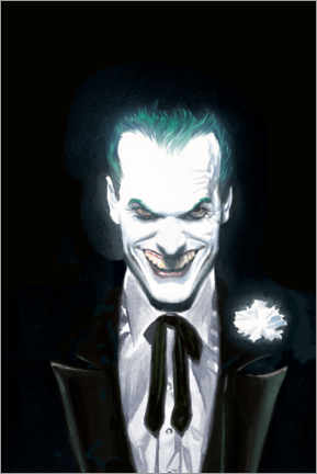 Premium poster  The Joker Face