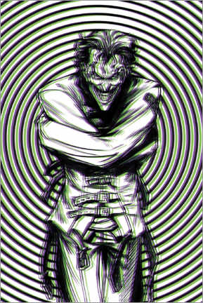 Premium poster  The Joker Illusion