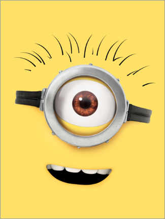 Premium poster  Happy Minion Face