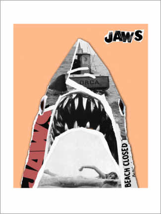 Premium poster  Jaws - Pop Art