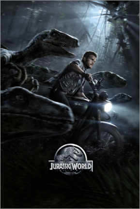 Canvas print  Jurassic World - Raptor Squad