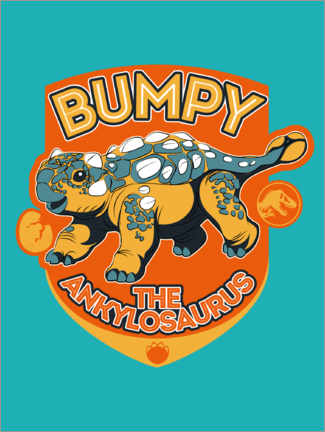 Wall sticker  Camp Cretaceous - Bumpy