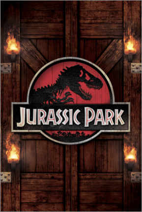 Wall sticker  Jurassic Park - Gate
