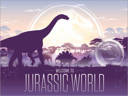 Premium poster  Jurassic World - Welcome