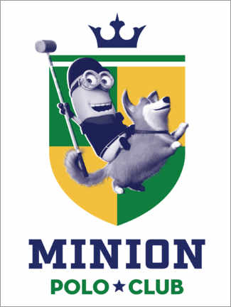 Premium poster  Minion Polo Club