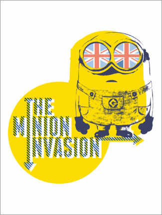 Premium poster  The Minion Invasion