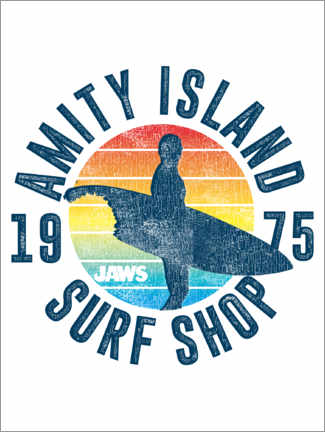 Premium poster  Amity Island Surf Shop